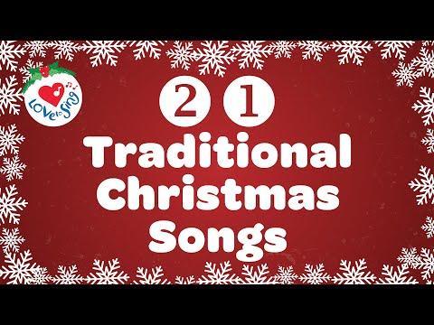 21 Traditional Christmas Carols with Lyrics 2020