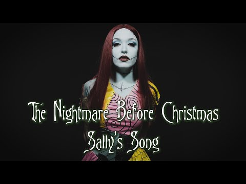 The Nightmare Before Christmas - Sally's Song (Acapella Cover by Vicky Psarakis)