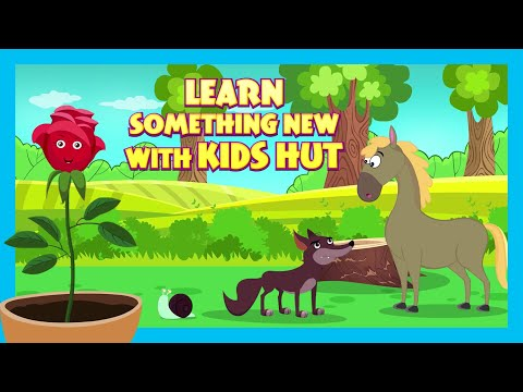 LEARN SOMETHING NEW WITH KIDS HUT | KIDS HUT STORIES | TIA & TOFU STORYTELLING | BEDTIME TALES