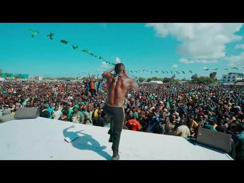 Diamond Platnumz - Pefoming live at Tanganyika packers ( babalao)