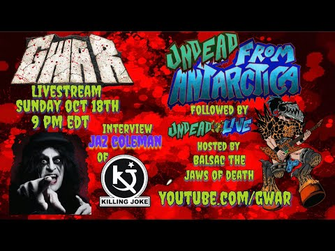 Undead from Antarctica hosted by Balsac the Jaws of Death