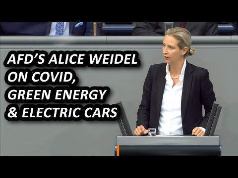 AfD's Alice Weidel on covid, green energy & job losses in German car industry, English subtitles