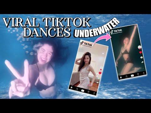VIRAL TIKTOK DANCES UNDERWATER