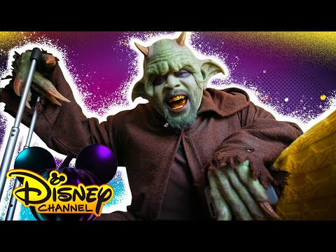 A Day in the Life of a Monster 👹| Disney Channel Halloween House Party