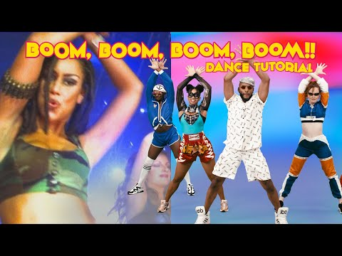 "Dance Tutorial ""Boom Boom Boom Boom"" - VENGABOYS | TikTok Viral Song"