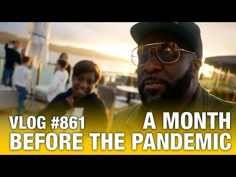 A month before the pandemic | vlog #861