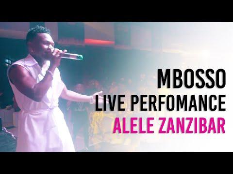 Mbosso live perfomance Alele Zanzibar