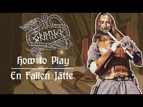 "How to play ""En Fallen Jätte"" by Grimner on Tin Whistle"