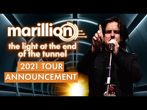 Marillion - The Light at the End of the Tunnel Tour 2021 - UK dates