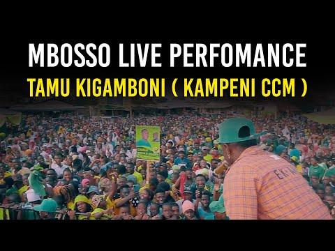 Mbosso live perfomance Tamu Kigamboni ( Kampeni ccm )