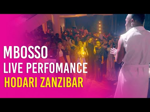 Mbosso live perfomance Hodari Zanzibar