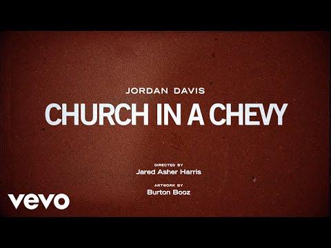 Jordan Davis - Church In A Chevy (Lyric Video)
