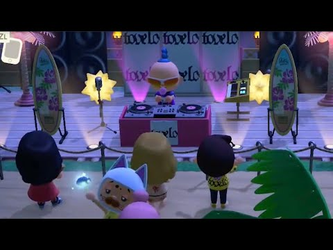 Tove Lo - Live at The Golden Paw (Full Animal Crossing DJ Set)