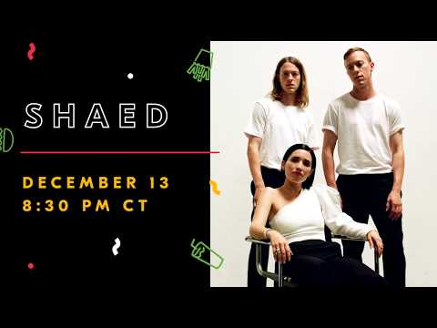 Sound Bites Delivered By Grubhub: LIVE with SHAED 12/13. Set Your Reminder Here!