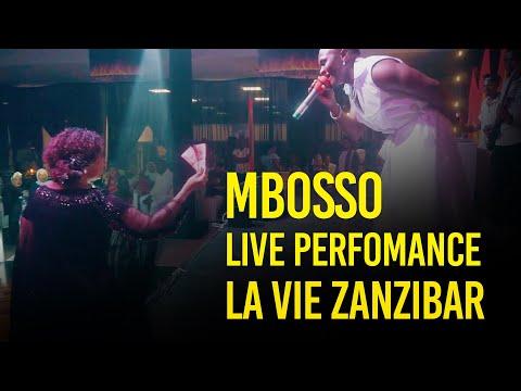 Mbosso live perfomance La vie Zanzibar