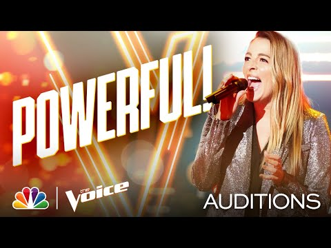"Nashville's Taryn Papa Sings Martina McBride's ""Anyway"" - The Voice Blind Auditions 2020"