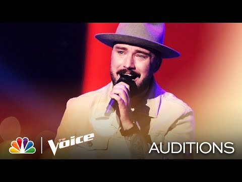 "Corey Ward Sings Kaleo's ""Way Down We Go"" - The Voice Blind Auditions 2020"