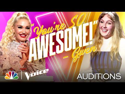 "Lauren Frihauf Delivers on Melissa Etheridge's ""Come to My Window"" - The Voice Blind Auditions 2020"
