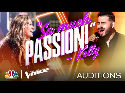 "Eli Zamora Brings Passion to Juan Gabriel's ""Ya lo sé que tú te vas"" - Voice Blind Auditions 2020"