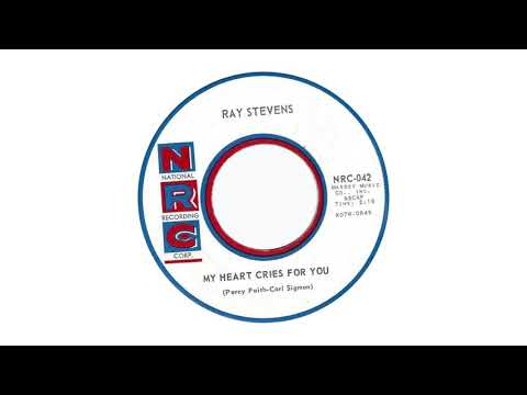 """Ray Stevens - """"My Heart Cries For You"""" (Official Audio)"""