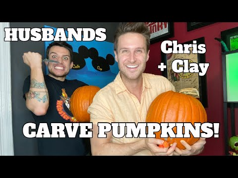 PUMPKIN CARVING NIGHT! - Chris and Clay