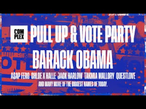DJ Questlove presents Pull Up And Vote!!  #QuestosWreckaStow