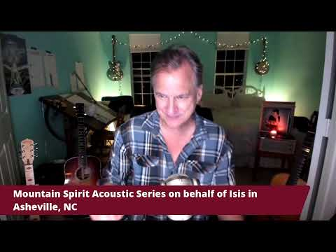 Ellis Paul At Mountain Spirit Acoustic Series. 10-24-20