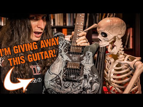 I'm Giving Away this Guitar (Wild Customs Wild One Raven) to a Subscriber!