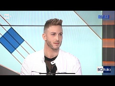Alex Palmieri - intervista TV RAITRE - Buongiorno Italia