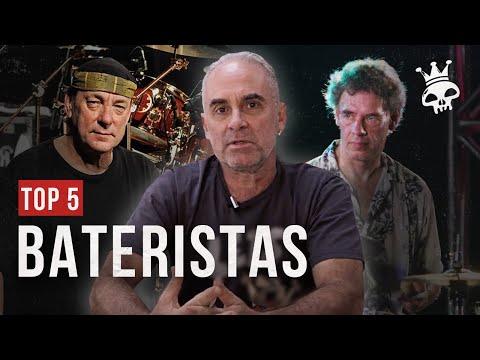 TOP 5 | FÊ LEMOS ELEGE OS CINCO BATERISTAS DE TODOS OS TEMPOS