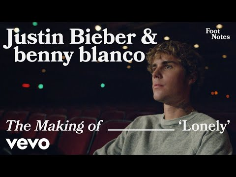 Justin Bieber, benny blanco - Lonely (The Making of 'Lonely'/Vevo Footnotes)