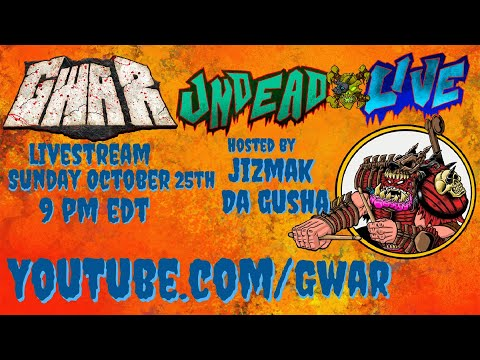 Undead Live Oct 25th with Jizmak