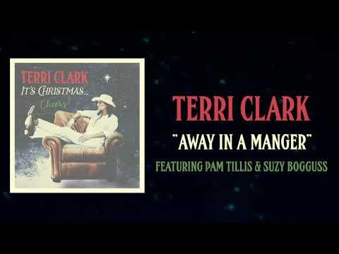 Terri Clark - Away In A Manger ft. Pam Tillis & Suzy Bogguss (Lyric Video)