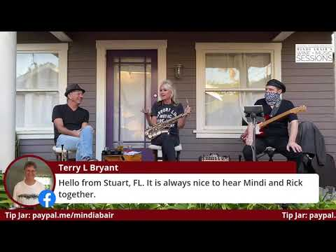 Mindi Abair's LIVE Wine + Music Sessions w/ Special Guest Rick Braun