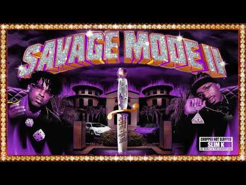 21 Savage x Metro Boomin - Many Men (ChopNotSlop Remix)