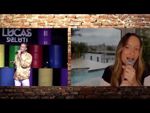 Participação de Claudia Leitte na Live do Lucas Deluti