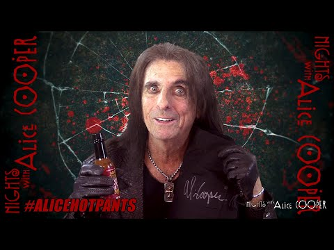 NIGHTS WITH ALICE COOPER HALLOWEEN GIVEAWAY - #ALICEHOTPANTS
