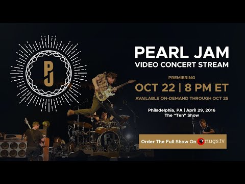 Pearl Jam Live 4/29/2016 First Song Preview