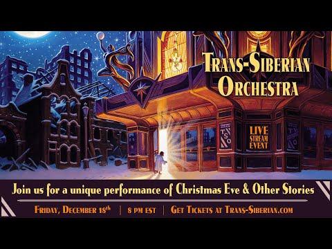 """TSO 2020 Livestream Event - """"Christmas Eve and Other Stories"""" - tsolivestream.com"""