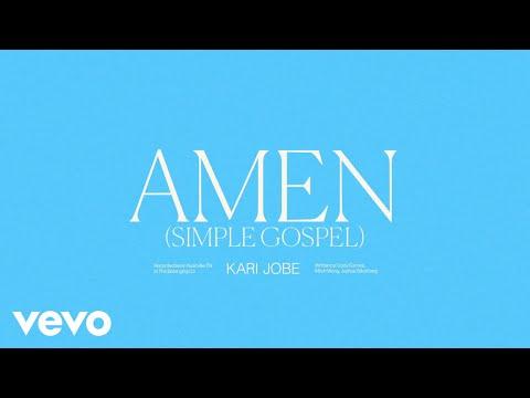 Kari Jobe - Amen (Simple Gospel) (Audio / Live)