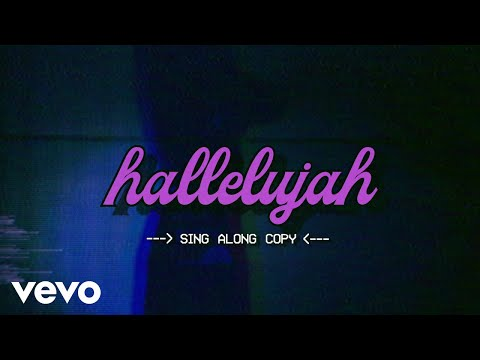 Bea Miller - hallelujah (lyric video)