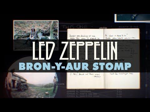 Led Zeppelin - Bron-Y-Aur Stomp (Official Audio)