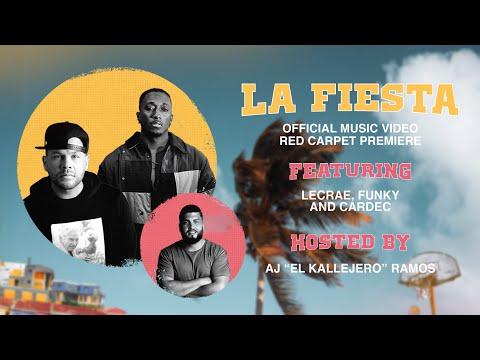 La Fiesta Premiere Event w/ Lecrae, Funky, & Cardec – Hosted by AJ El Kallejero