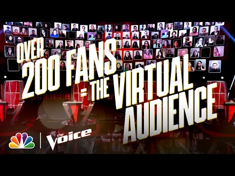 Kelly, John, Blake and Gwen Are Excited About the First Ever Virtual Audience on The Voice!