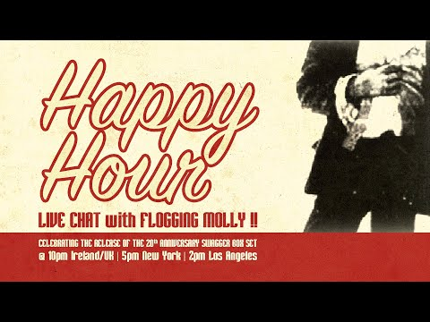 Happy Hour Live with Flogging Molly