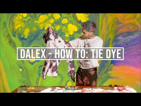 Dalex - How to: Tie Dye ¡ENTRA AL SORTEO!