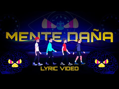 Mente Daña - ICON, Feid y Lyanno (Lyric Video)