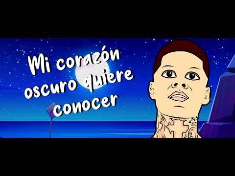 Afaz Natural & Santa Fe Klan - Luna (Lyric Video)