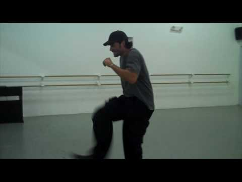 #TBT - Chayanne Practices His Choreography