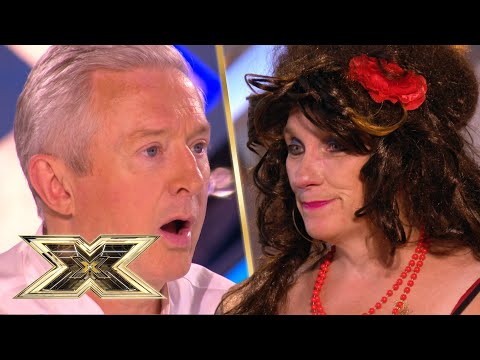 LOL! SHE GET'S CHANGED IN FRONT OF THE JUDGES! | The X Factor UK